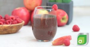 Raspberry Apple Cider Smoothie
