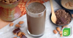 Dark Chocolate Almond Smoothie